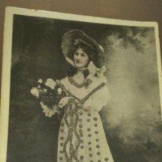 Postales: ANTIGUA POSTAL ROMANTICA ACTRIZ MISS PHYLLIS DARE DAVIDSON BROSS 1906. Lote 35010917