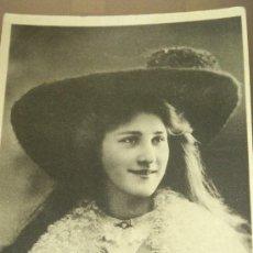 Postales: ANTIGUA POSTAL ROMANTICA ACTRIZ MISS PHYLLIS DARE DAVIDSON BROSS PENARTH 1906. Lote 35010956