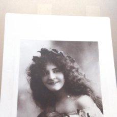Postales: ANTIGUA POSTAL ROMANTICA ACTRIZ JOY DAVIDSON BROS PENARTH 1910. Lote 35011110
