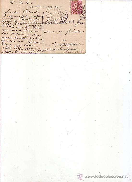 Postales: postal romantica-circulada - Foto 2 - 35167505