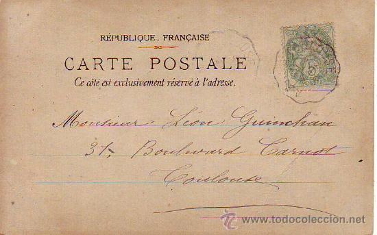 Postales: postal romantica-circulada - Foto 2 - 35167547