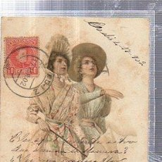 Postales: TARJETA POSTAL MUJERES. Lote 35390086