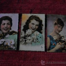 Postales: ANTIGUAS POSTALES DE MUJERES - FRANCIA- SIN CIRCULAR. Lote 35363518