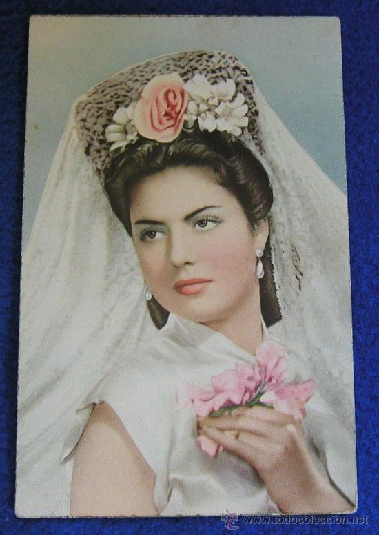 La mujer vestida de novia