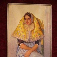Postales: POSTAL MARGALIDA, EN TRAJE DE FIESTA. AÑO 1939. ACUARELA ERWIN HUBERT.. Lote 35856542