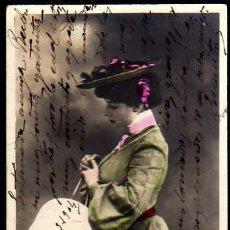 Postales: POSTAL JOVEN. CIRCULADA 1904. Lote 35943085