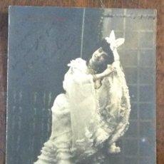 Postales: TERESITA CALVÓ EN 'LA GATITA BLANCA'. CUPLETISTA. ARTISTA. ACTRIZ. 1906. (ED. VIOLA, MATEOS FOT.). Lote 36111049