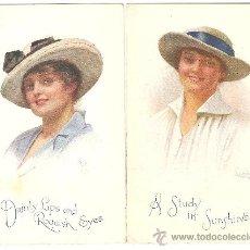 Postales: LOTE DE 3 POSTALES - C.W. FAULKNER & CO. LTD. LONDON - SERIES 1627. Lote 36259822