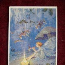 Postales: POSTAL ROMÁNTICA MUJER. THE ENCHANTRESS BY MARGARET W. TARRANT. THE MEDICI SOCIETY LTD. LONDON.. Lote 36573392