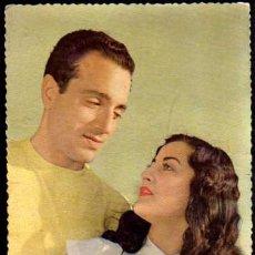 Postales: ROMÁNTICA CIRCULADA. 1957.. Lote 36887786