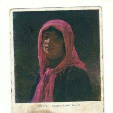 Postales: GITANA --1920- CON SELLO15 CTS ALFONSO XIII. Lote 37395147