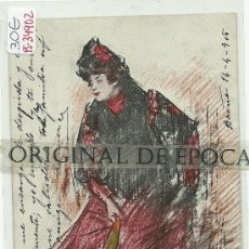 Postales: (PS-34902)POSTAL DE ILUSTRADOR RAMON CASAS. Lote 37504325