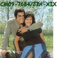 Postales: ANTIGUA POSTAL PAREJA MILITAR Y NOVIA AÑOS 60 A ESTRENAR*. Lote 178879242