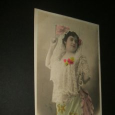 Postales: ANITA FERNANDEZ POSTAL ARTISTA 1906. Lote 39126008
