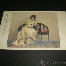 Postales: NIEVES SUAREZ POSTAL ARTISTA ANTERIOR A 1905. Lote 39160842