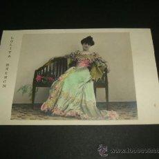 Postales: LOLITA BREMON POSTAL ARTISTA ANTERIOR A 1905. Lote 39160850