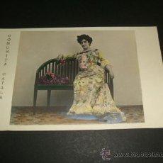Postales: CONCHITA CATALA POSTAL ARTISTA ANTERIOR A 1905. Lote 39160882