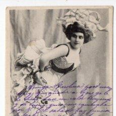 Postales: CABARETERA. ESCRITA EN GETAFE EL 4 DE DICIEMBRE DE 1903.. Lote 39330352