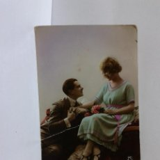 Postales: POSTAL GALANTE CHICA. ESCRITA. P.C.PARIS.. Lote 39337224