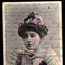 Postales: JOVEN. CIRCULADA 1906. Lote 39647442