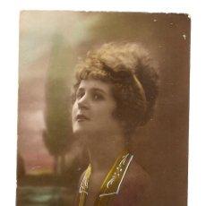Postales: BONITA POSTAL ANTIGUA COLOREADA, MANUSCRITA Y SIN CIRCULAR - EDITADA EN FRANCIA - REX 905 - AÑO 1920. Lote 39690595