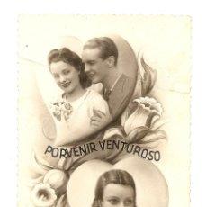 Postales: BONITA POSTAL ANTIGUA MANUSCRITA Y SIN CIRCULAR - MARGARA 962. Lote 39769583