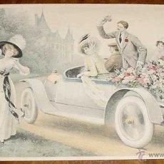 Postales: ANTIGUA POSTAL ROMANTICA - M. M. VIENNE - M. MUNK - NO CIRCULADA - ESCRITA.. Lote 38247062