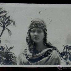 Postales: ANTIGUA FOTO POSTAL SURREALISTA DE MUJER, NPG 107/1, MODERNISTA, ART NOUVEAU, CIRCULADA EN 1902, SIN. Lote 38279923