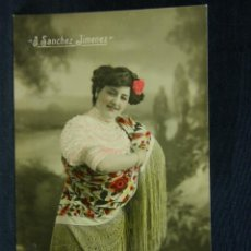 Postales: POSTAL FOTOGRÁFICA COLOREADA SIN CIRCULAR ESCRITA SANCHEZ JIMENEZ J.C MADRID S.44 561. Lote 40370748