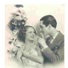 Postales: POSTAL ROMÁNTICA - PAREJA FRANCESA - ESCRITA 1937 . Lote 41145951