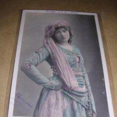 Postales: POSTAL ACTRIZ - J. HADING CIRCULADA 1904 SERIE N 758 TH. 64 -14X9 CM. . Lote 42157144
