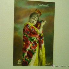 Postales: POSTAL ARTISTA ,..COLOREADA A MANO .-ESCRITA 1928. Lote 42291289