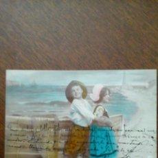 Postales: LOTE DE 6 POSTALES ROMANTICAS ANTIGUAS. Lote 42749515
