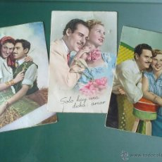 Postales: FOTOS POSTALES ANTIGUAS.SERIE GALANTES.SIN ESCRIBIR.. Lote 42921429