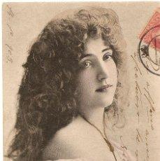 Postales: POSTAL DE MUJER CIRCULADA EN ESPAÑA AÑO 1903. Lote 43044555