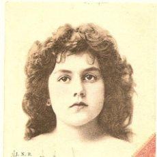 Postales: POSTAL DE MUJER CIRCULADA EN ESPAÑA AÑO 1903. Lote 43044575