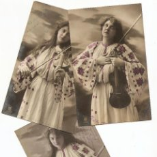 Postales: VENDRELL (TARRAGONA) - LOTE 3 POSTALES CIRCULADAS CON MATASELLOS VENDRELL AÑO 1907. Lote 43044607