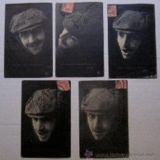 Postales: 5 POSTALES SERIE CHAUFFEUR - FOTOGRAFIAS DE H. MANUEL. Lote 43074211