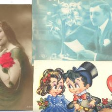 Postales: LOTE POSTALES ORIGINALES Y SIMPATICAS. Lote 43802256