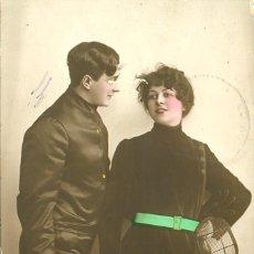 Postales: POSTAL GALANTE Y MUJER. RPH 4755/5. CA 1910.. Lote 44159152
