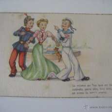 Postales: ANTIGUA POSTAL EDICIONES PABLO DÜMMATXEN SERIE 1293. BARCELONA. SIN CIRCULAR. Lote 44461551