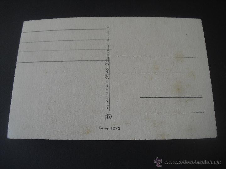Postales: Antigua Postal Ediciones Pablo Dümmatxen serie 1293. Barcelona. Sin circular - Foto 2 - 44461551