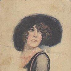 Postales: UNA CHICA, CIRCULADA EN 1906. Lote 44475887