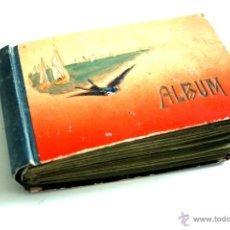 Postales: ÁLBUM CON 84 POSTALES DEL INICIO DE 1900 - DIFERENTES FELICITACIONES DE ANIVERSARIO DE UNA SEÑORITA . Lote 45484753