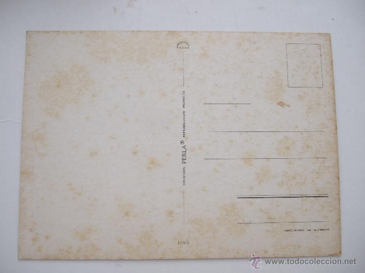 Postales: POSTAL PAREJA ROMANTICA - 1974 - COLECCION PERLA - SIN CIRCULAR - Foto 2 - 45947415