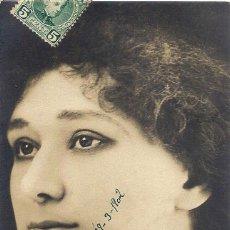 Postales: CIRCULADA. 29 DE MARZO DE 1902. OVIEDO. MUJER.. Lote 46002526