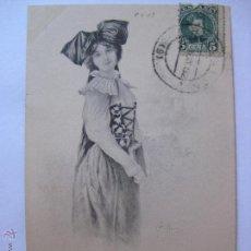 Postales: POSTAL ILUSTRADA POR BOTTARO SERIE 105 Nº5 - CIRCULADA EN 1902. Lote 47139956