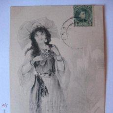 Postales: POSTAL ILUSTRADA POR BOTTARO SERIE 105 Nº6 - CIRCULADA EN 1902. Lote 47139968