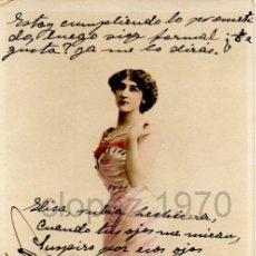 Postales: LA BELLA OTERO, REUTLINGER, MAGNIFICA. Lote 47155127