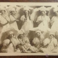 Postales: THE OSWALDS. CUPLETISTAS, ACTRICES, BAILARINAS, CANTANTES. POSTAL FOTOGRÁFICA. . Lote 47343947